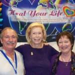 Patricia Crane, Rick Nichols & Louise Hay