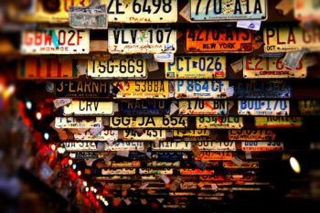 License Plates and Other Forms of Guidance